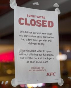 closed-KFC-UK